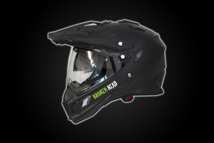 Enduro Helm - Broken Head