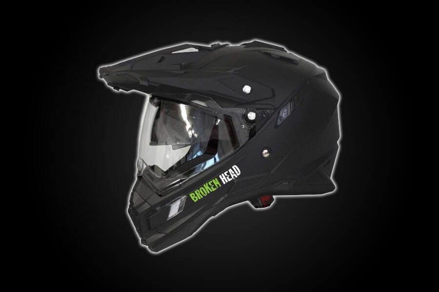 Enduro Helm - Broken Head