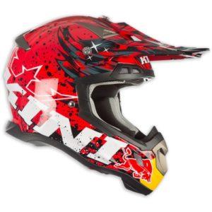 Kini Red Bull Helm Revolution Rot Schwarz