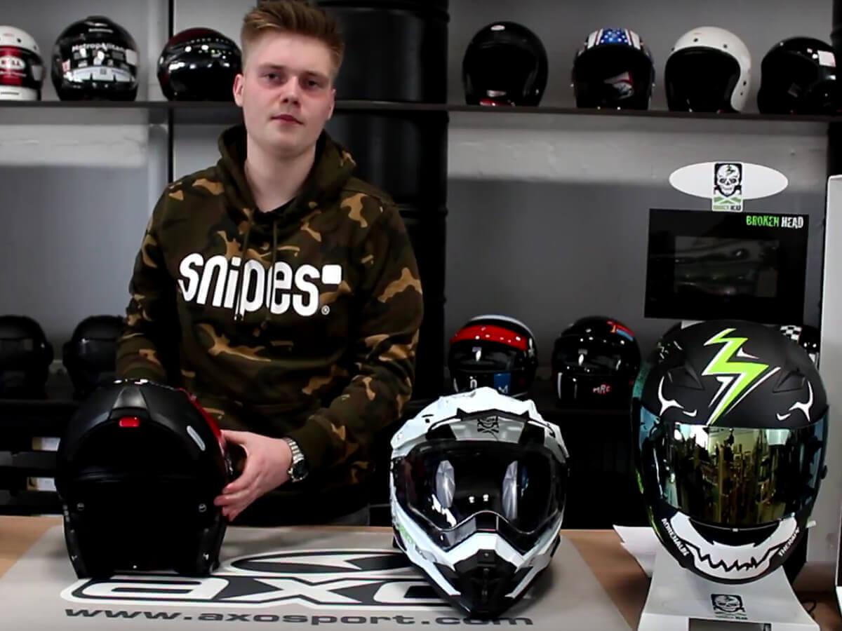 Welcher Helm passt zu welchem Motorrad